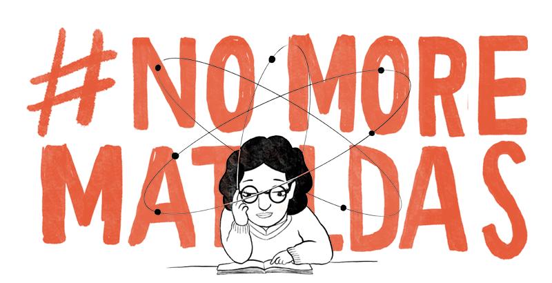 Imaxe da campaña #NoMoreMatildas